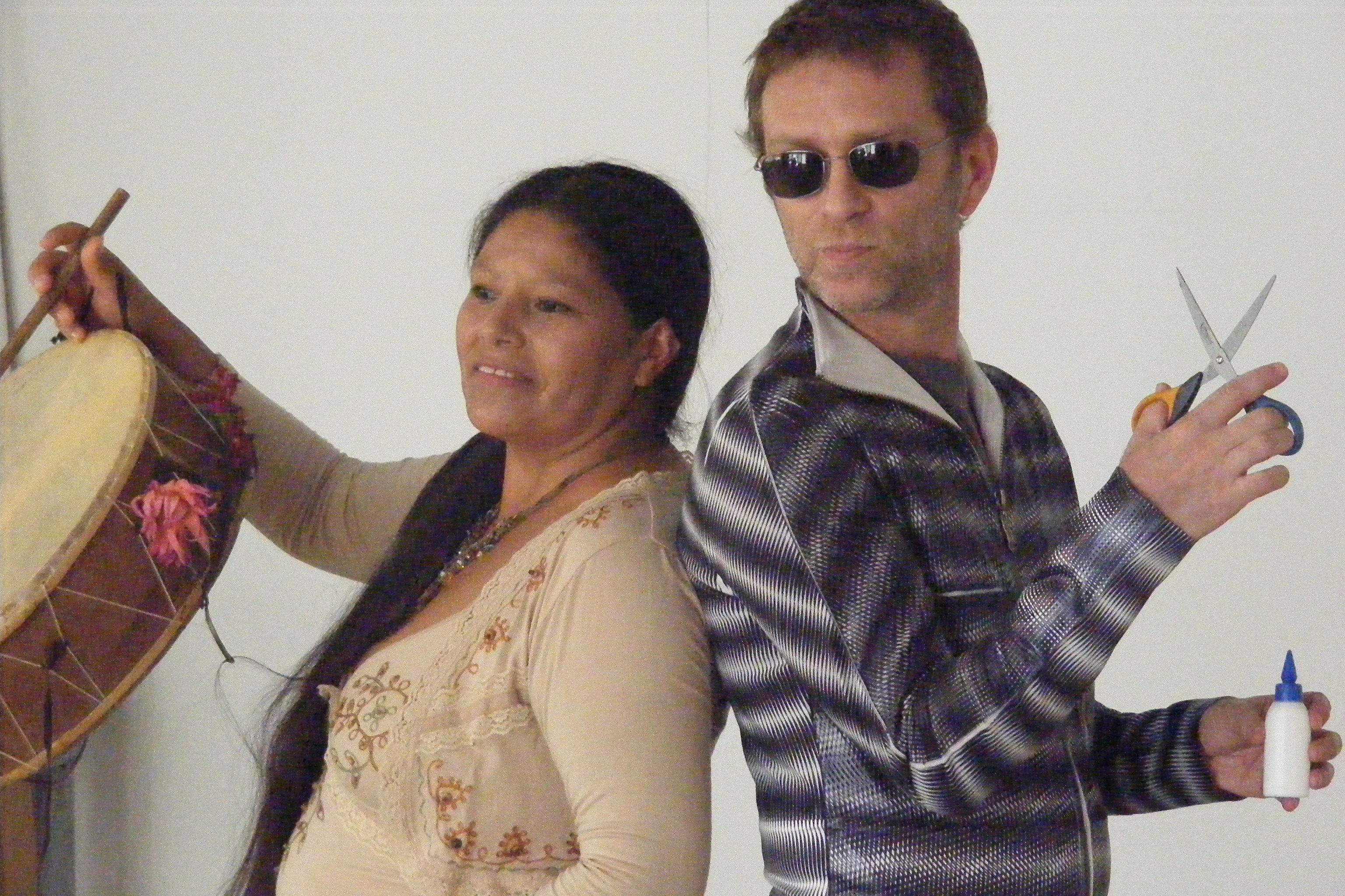 Disco Balvina Ramos y Gaby Kerpel